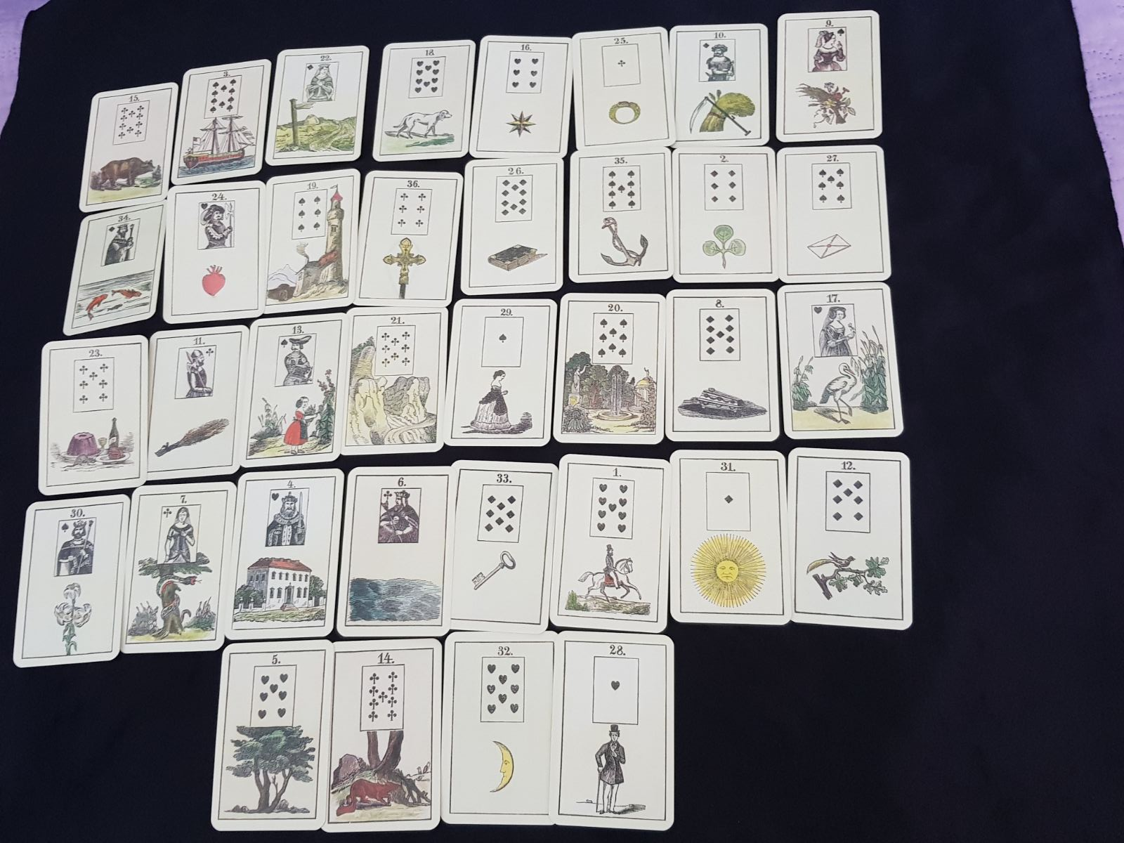 Ancient Astrology and Lenormand